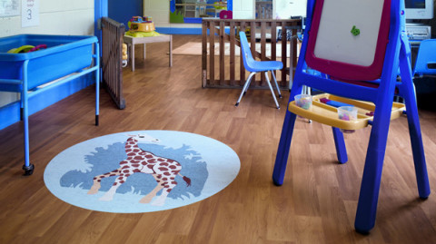 Polyflor children's play area imaging